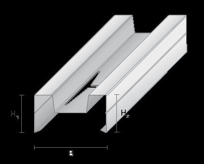 ecfe0cc7be3 Akustilised profiilid on mõeldud helisummutavate seinte (kuni 55 db)  ehituseks. Profiilidel on keel villa fikseerimiseks ning avad juhtmete ja  torude ...