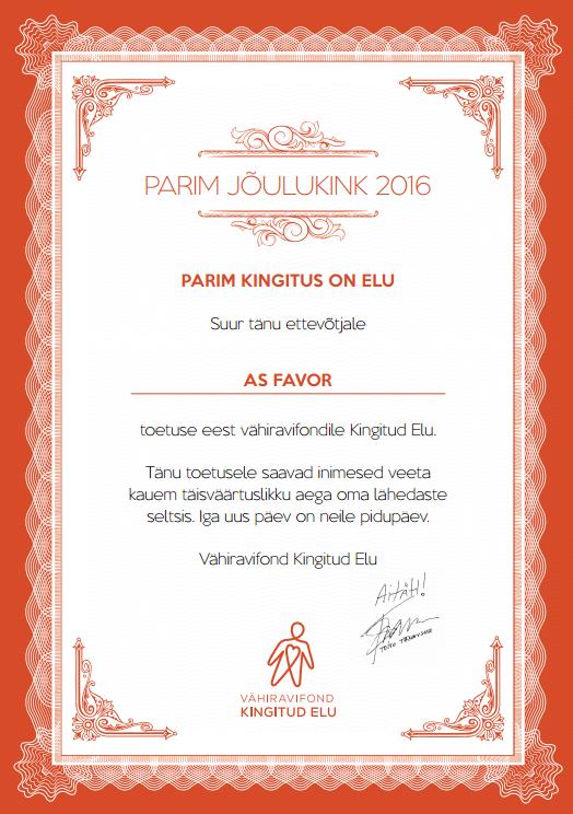 parim_kingitus_on_elu_sertifikaat